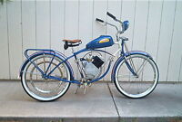 STENCIL SET TO REPAINT YOUR VINTAGE 1950S SCHWINN WHIZZER MOTOR BIKE RESTORE OLD