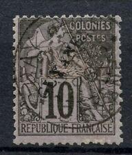 French Guiana 1892 SG#24, 10c Black/Lilac Used #A55509