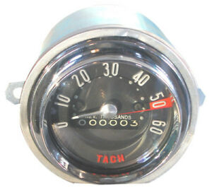 1958 Corvette Tachometer - Generator Driven - 6000 RPM - New
