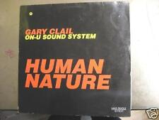"GARY CLAIL ON U SOUND SYSTEM ""HUMAN NATURE"" - 12"" MAXI"