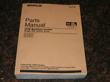 CAT CATERPILLAR 420E BACKHOE LOADER PARTS MANUAL S/N HLS1-UP THP1-UP