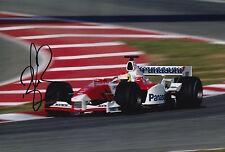 Ryan Briscoe Hand Signed 12x8 Photo Panasonic Toyota F1 12.