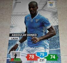 CARD ADRENALYN 2013/14 CALCIATORI PANINI LAZIO KONKO CALCIO FOOTBALL