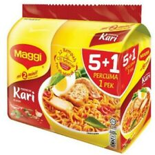 Maggi Instant Noodles Curry (5+1 Packs x 79g)
