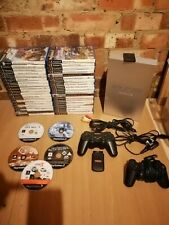 Playstation 2 / ps2 console bundle with 45 games wireless controller