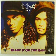 "12"" Maxi - Milli Vanilli - Blame It On The Rain - #C2495 - washed & cleaned"