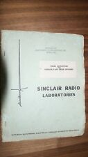 Sinclair Radio Laboratories Tuning Instructions for V-450 Series Duplexers