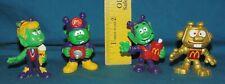 Astrosniks PVC figures - schaper bully mcdonalds toy gold robot girl