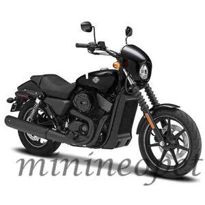 MAISTO 32333 2015 HARLEY DAVIDSON STREET 750 MOTORCYCLE BIKE 1/12 BLACK