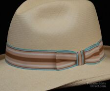 Hat band 32 Seaside brown - Men Ladies Sun Panama Hat fedora Replacement strap
