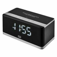 Trevi HY 870 BT Radiosveglia Digitale con Grande Display LED, Bluetooth