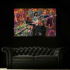 Eddie Van Halen  Original Graffiti Art  Canvas 36x24 Ready to Hang Art