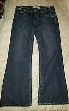 Laguna Beach Jeans Mens Size 36 x 32 skull buttons white crystals EUC