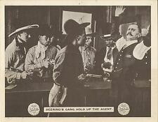 A LASS OF THE LUMBERLANDS (1916) Silent Film Serial Chp 10 Cowboys Hold-Up Agent
