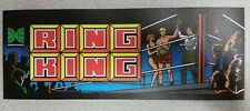 Ring King marquee sticker. 3.5 x 10. (Buy 3 stickers, Get One Free!)