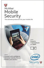 McAfee Mobile Security 1 Device, 1 Year - Product Key on email
