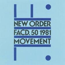NEW ORDER MOVEMENT LP VINYL 33RPM NEW