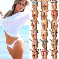 Coqueta Women's Bikini Bottom BRAZILIAN THONG Mini BEACHWEAR Sexy TEENY Swimwear