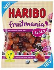 "4 Bags HARIBO "" Fruitmania BERRY "" Fruit gum vegetarian novelty from HARIBO New"