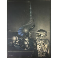 """Paul Wunderlich - Originallithographie """"TOD UND SPHINX"""""""