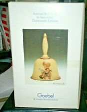 1990 Hummel Annual Bell 13th Edition Hum 712 What'S New W. Germany Mint In Box