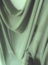 SAGE GREEN SATIN BACK CREPE FABRIC, EVENING, BRIDESMAIDS, HOME DECOR, NEW, AUST.