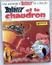 Astérix et le Chaudron édition 1974 Bien Blanc état Neuf  Uderzo Goscinny
