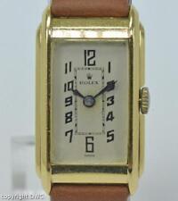 DAU Rolex 1822 aus 18 Kt. 750 Gold 1950 square Ladys watch Damen generalüberholt