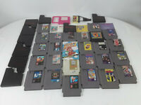 Nintendo Nes 26 Game Lot - Zelda, Mario, Duck Tales, Tetris, Game Genie & More
