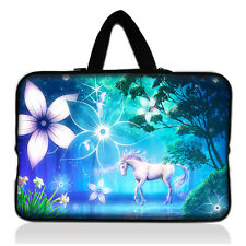 "13"" Unicorn Netbook Soft Pouch Laptop Bag Sleeve Fr 13.3"" Apple MacBook Pro Air"