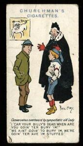 Tobacco Card, Churchman, PHIL MAY SKETCHES, 1912, #38