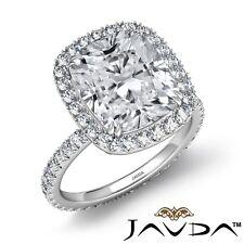 5.55ctw Punta Doble Almohadón Anillo de Compromiso Diamante GIA D-VS2 Platino