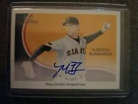 2010 Topps National Chicle Madison Bumgarner Autograph