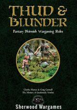 Thud And Blunder, 28mm Fantasy Skirmish Wargaming Rules BNIB