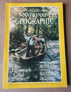 National Geographic Magazine - June 1987 - Patowmack Canal - Tornadoes
