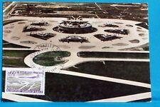 AEROPORT CHARLES DE GAULLE   FRANCE CPA Carte Postale Maximum  Yt 1787 C