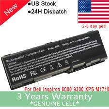 For Dell Battery U4873 G5260 Inspiron 6000 9200 9300 9400 E1705 M90 M6300 M170
