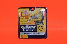 Gillette Fusion Proshield  8 Ct Cartridges Men Razor 5 Blade Refills Prosheild