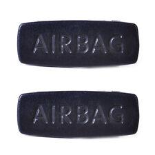 2X Black Pillar Airbag Clip Trim Cover Cap Fit for VW Golf MK6 Jetta Passat se