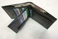 Soft Leather Full Wallet Large with Coin Pocket 15 Credit Slots RFID Protected