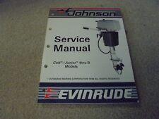 Vintage 1987 OMC Johnson Evinrude Service Manual Colt/Junior thru 8 HP Models