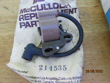 NEW McCulloch SP125 Chainsaw Kart Ignition Coil 85243 214535