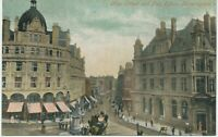 GB 1910 superb mint Valentine's Post Card New Street and Post Office BIRMINGHAM