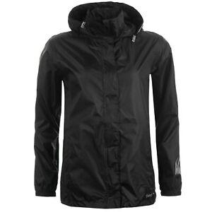 Gelert Womens Packaway Jacket Waterproof Coat Top Breathable Lightweight Hooded