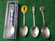 More details for 4 - old royal ulster constabulary r.u.c. spoons.