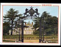 DRAVEIL (91) PORTAIL en fer forgé du CHATEAU DE PARIS en 1993
