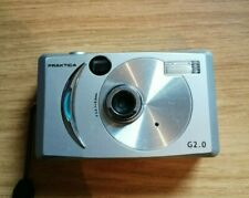 Praktica G2.0 Digital Camera With Hand Strap Silver Compact