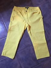 LRL Ralph Lauren Size 16w Womens Jeans Classic Straight Cropped