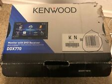 "Kenwood DDX770 6.95"" DVD Touchscreen Receiver NEW"