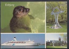Denmark Postcard - Views of Esbjerg - Seal, DFDS Seaways   T541